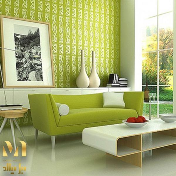 تاثیر رنگ سبز بر دکوراسیون داخلی منازل